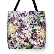 Cosmic Blooms Tote Bag