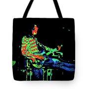 Cosmic Bullfrog Blues Tote Bag