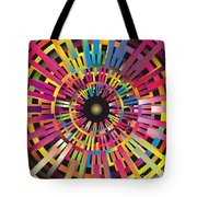Cosmic Calibrator Tote Bag