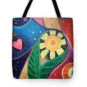 Cosmic Carnival II Aka Duality Tote Bag