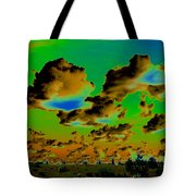 Cosmic Cloud Skyline Tote Bag