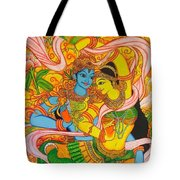 Cosmic Dance Of Krsna  Tote Bag