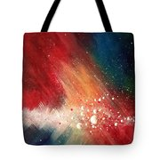 Cosmic Disturbance Tote Bag