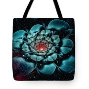 Cosmic Flower Tote Bag