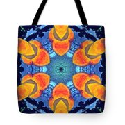 Cosmic Fluid Tote Bag