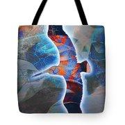Cosmic Flyer Tote Bag