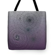 Cosmic Fossil Sketches 7-17-2015 #2 Tote Bag