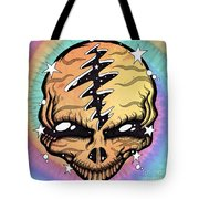 Cosmic Head Tote Bag