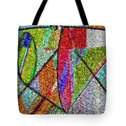 Cosmic Lifeways Mosaic Tote Bag