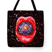Cosmic Lips 2 Tote Bag