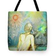 Cosmic Man Tote Bag