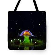 Cosmic Mushroom Tote Bag