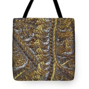 Cosmic Patterns - Hoarfrost Tote Bag