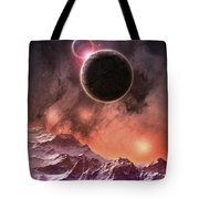 Cosmic Range Tote Bag by Phil Perkins