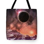 Cosmic Range Tote Bag by Phil Perkins
