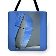 Cosmic Sails Tote Bag
