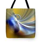Cosmic Shellgame Tote Bag