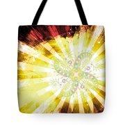 Cosmic Solar Flower Fern Flare 2 Tote Bag