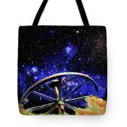 Cosmic Wheel Tote Bag