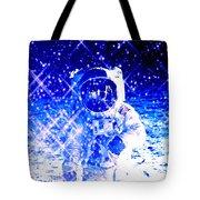 Cosmic Wonders Cropped Tote Bag