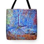 Cosmodrome Tote Bag