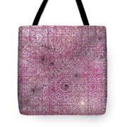 Cosmos Against Pink Mottled Glass 7-22-2015 #1 Tote Bag