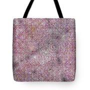 Cosmos Against Pink Mottled Glass 7-22-2015 #2 Tote Bag