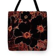 Cosmos Caliente Tote Bag