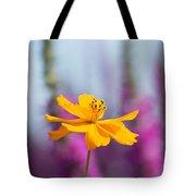 Cosmos Polidor Flower Tote Bag