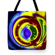 Cosmos Drift Tote Bag