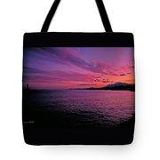 Costa Del Sol Sunset In Marbella Tote Bag