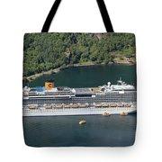 Costa Favolosa Tote Bag
