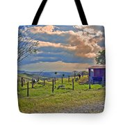 Costa Rica Cow Farm Tote Bag