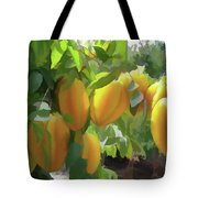 Costa Rica Star Fruit Known As Carambola Tote Bag