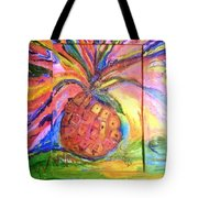 Costa Rican Pineapple Tote Bag