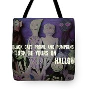 Costume Party Quote Tote Bag