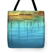 Cote D'azur Harbor Boats Tote Bag