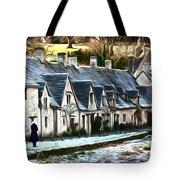Cotswold Scene Tote Bag