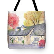 Cotswolds Cottage Tote Bag