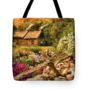 Cottage - There's No Place Like Home Tote Bag