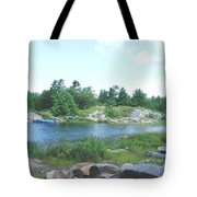 Cottage Country Tote Bag