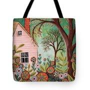 Cottage Garden 1 Tote Bag