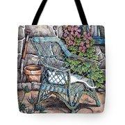 Cottage Garden Tote Bag