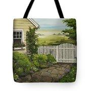 Cottage Garden Beach Getaway Tote Bag