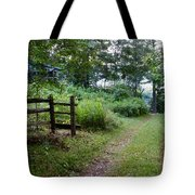 Cottage Path Tote Bag