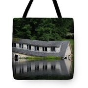 Cottage Sinking In The Rideau Canal Tote Bag