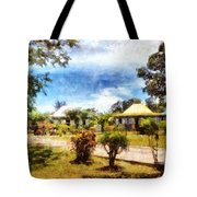 Cottages In A Landscape Tote Bag