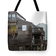 Cottages Of The Past Tote Bag