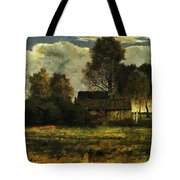 Cottages On The Dachau Marsh 1902 Tote Bag