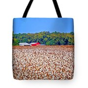 Cotton And The Red Barn Tote Bag